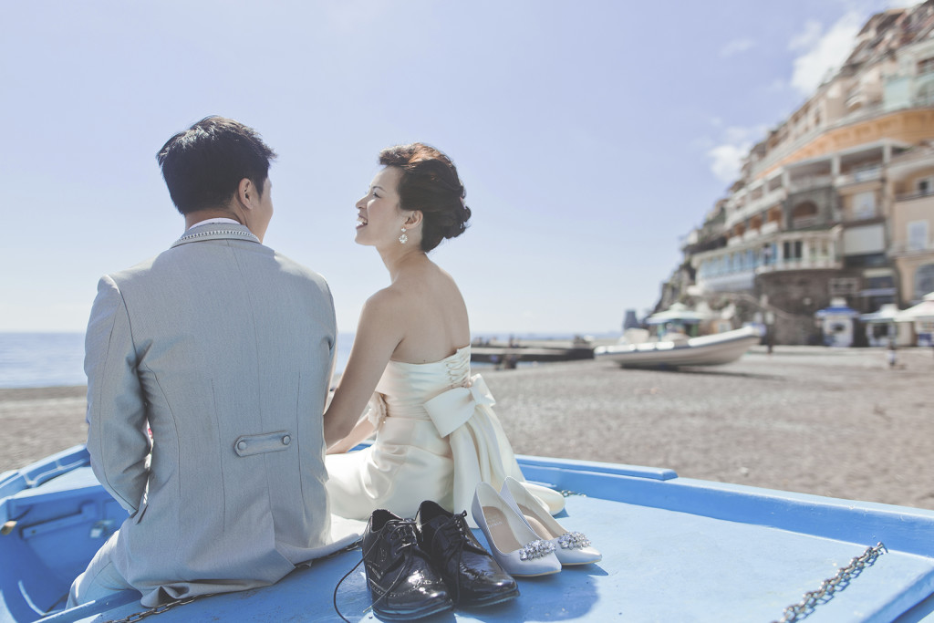 engagement positano