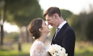 Wedding at Relais Appia Antica in Rome