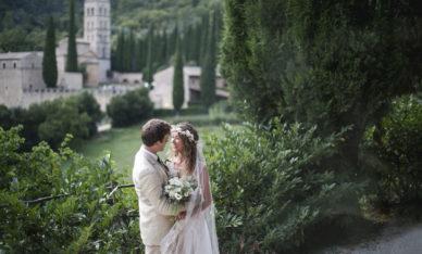 Claudia & Benedict all'Abbazia San Pietro in Valle
