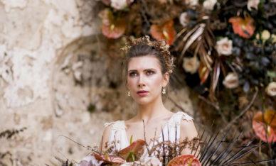 Indie Bride photo shooting in Umbria