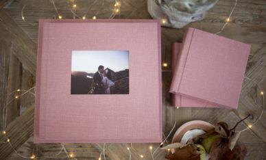 Wedding Book Bluedeer Dusty Pink