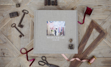 Wedding Book Earth Gray